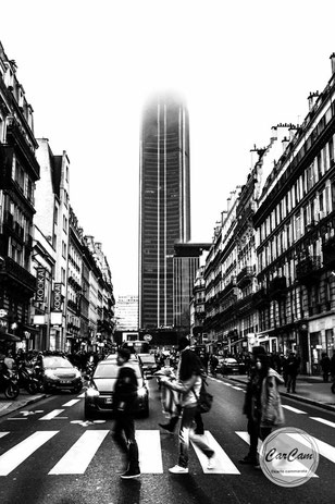 paris, montparnasse, big apple, lumber, black and white, noir et blanc, street photography, CarCam, je shoote, art