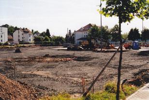 dudweiler, dudoplatz, bauarbeiten