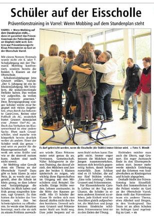 Zum Vergrößern bitte anklicken! Quelle: Sulinger Kreiszeitung