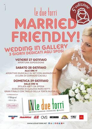 """Desideri di Manuela Organizzatrice Wedding in Gallery Centro Commerciale """"Le Due Torri"""" Stezzano (BG)"""