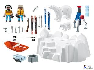 Im Paket Playmobil 9056 sind über dreissig Teile enthalten.