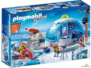 """Bei der Bestellung im Onlineshop der-Wegweiser erhalten Sie das Playmobil Paket 9055 """"Polar Ranger Hauptquartier""""."""