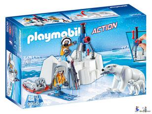 Bei der Bestellung im Onlineshop der-Wegweiser erhalten Sie das Playmobil Paket 9056 Polar Ranger mit Eisbären.