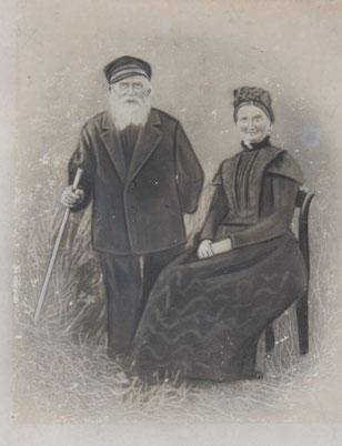 Ducko Doyen und Frau Itje