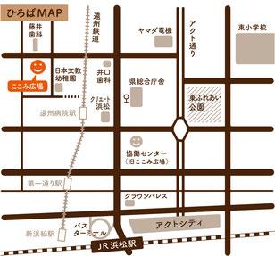ここみ広場地図