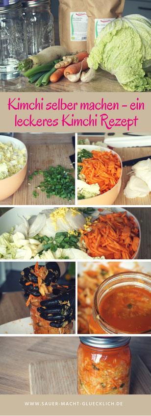 Kimchi rezept, Kimchi selber machen