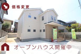 岡山市中区山崎の新築一戸建て分譲住宅の外観 物件詳細ページにリンク
