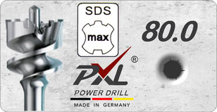 PX4 SDSmax 18mm power drill / hamerboor / klopboor / betonboor / hammer drill bit