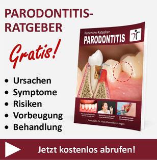 Kostenloser Parodontitis-Ratgeber der Zahnarztpraxis Dr. Viola Chemnitius in Hagen