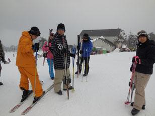 スキースタート!
