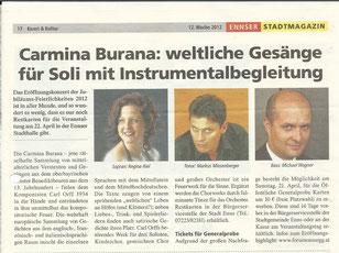 Carmina Burana 2012