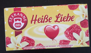 "Tee ""Heiße Liebe"""