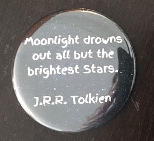 Taschenspiegel mit Zitat von Tolkien