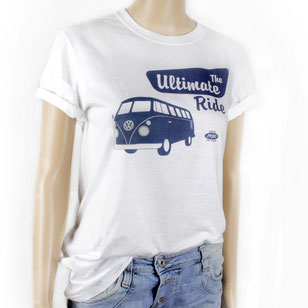 VW T1 BUS T-SHIRT UNISEX  - THE ULTIMATE RIDE/WEISS Gr. S,M,L,XL,XXL