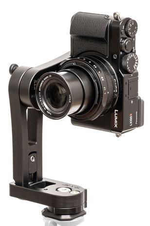 pocketPANO COMPACT Nodalpunktadapter für die Panasonic LX100 II LX 100
