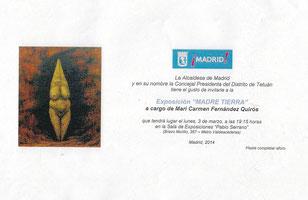 Exposición individual en Madrid - Madre Tierra - Miradas de mujer