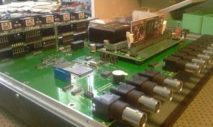 Stromregler für Lichtbogen-Löschung mehrphasiger Stromregler mit 10kHz für die Ansteuerung von IGBT's