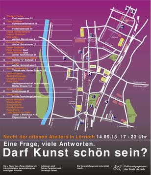 2. Nacht der offenen Ateliers in Lörrach