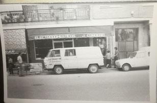 Calle Mayor junto a la ferreteria Gabán año 76