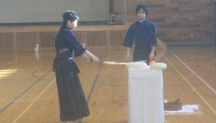 剣道鏡開き