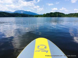 Le Staffelsee: un lac idéal pour faire du stand up paddling