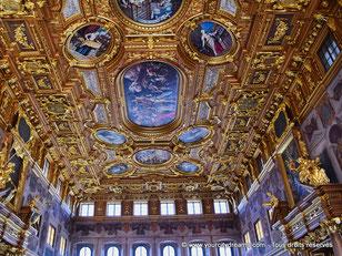 La salle d'or de l'hôtel de Ville d'Augsbourg