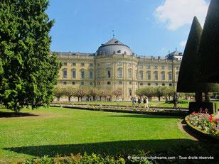 Le palais baroque de Wurtzbourg