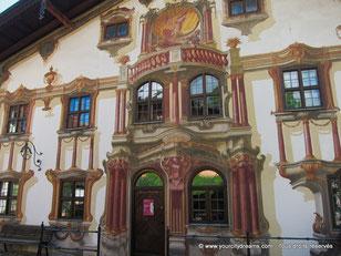 Fresques murales à Oberammergau