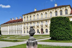 La façade baroque du nouveau château de Schleissheim