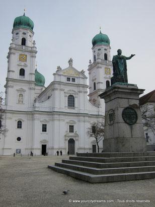 La cathédrale Saint-Étienne de Passau, en Bavière