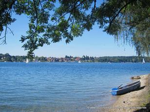 L'île aux dames sur le lac de Chiemsee