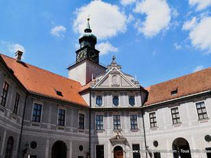 Résidence des rois de Bavière à Munich