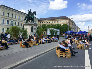 Corso, Street Life Festival, sur l´avenue Ludwigstrasse à Munich