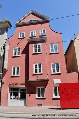 Maison natale de Leopold Mozart, père de Wolfgang Amadeus Mozart, le célèbre compositeur de musique classique
