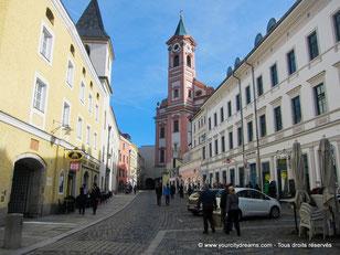 Le centre ville de Passau