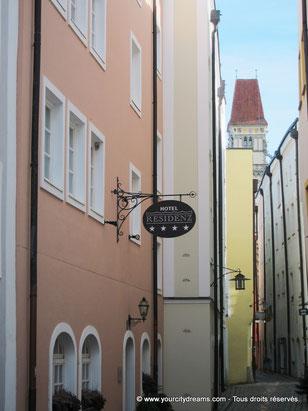 La vieille ville de Passau en Bavière