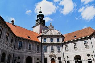 Cour intérieure de la Résidence des rois de Bavière