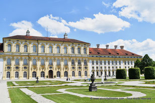 Voyage culturel - Le nouveau château de Schleissheim est un bel exemple de l´art baroque allemand.