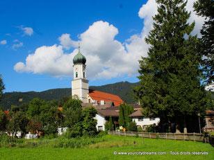 Église à Oberammergau