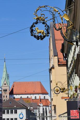 La cathédrale de la Visitation d'Augsbourg