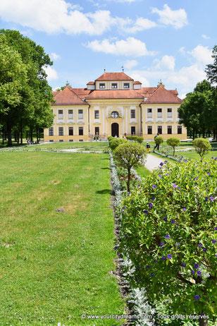 le jardin du château de Lustheim