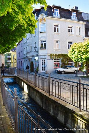 Visiter la Bavière - Les canaux de la ville basse d´Augsbourg