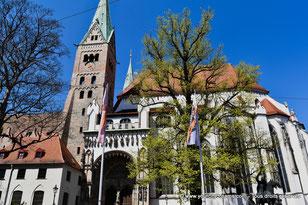 Visiter la cathédrale romane et gothique d´Augsbourg