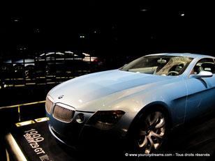 Les prototypes automobiles ainsi que les bolides sportifs sont également exposés dans le musée BMW de Munich.