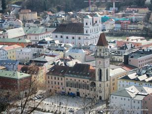 Passau vue de la citadelle