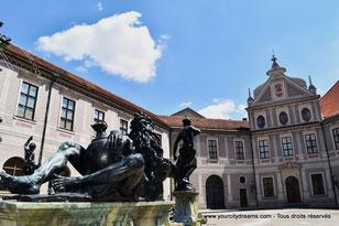 Fontaine de la Résidence de Munich