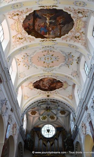 L'intérieur de l'église Sainte Anna à Augsbourg