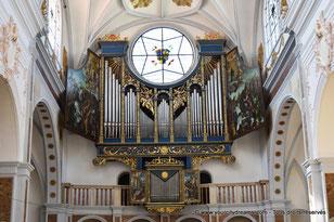 L'orgue de l'église Sainte Anna à Augsbourg