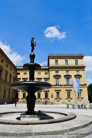 Fontaine de la La Résidence de Munich