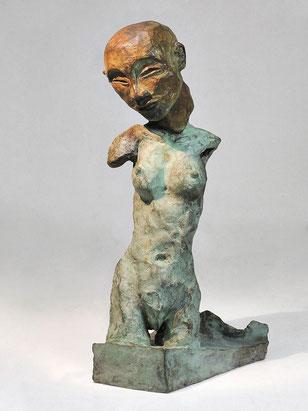 Figur 259,  Bronze, 2015, 25,5x11x13cm